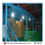 Rivestimento della polvere o cremagliera cotta della piattaforma della struttura d'acciaio di memoria della Cina della vernice