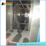 Machine de système de traitement extérieur de machines d'acier inoxydable