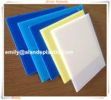 Fabricante plástico colorido da folha dos PP do Polypropylene