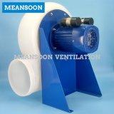 Ventilateur d'extraction de capot de vapeur de laboratoire de 250 plastiques