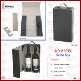 2018 Couro PU Dobrável Vinho portátil personalizado (6045R1)