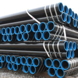 Kohlenstoffstahl-nahtloses Rohr-nahtloses Gefäß/Qualität API-5L ASTM A106-A