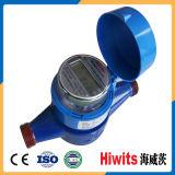 O plástico o mais barato do preço cobre o medidor de água doméstico eletrônico da leitura remota de GPRS para a venda