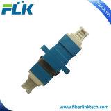 Adaptateur fibre optique LC en duplex avec de nouveaux le capuchon antipoussière
