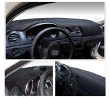 Se encaixa na Nissan Altima 2007-2012 Dashmat Tapete a tampa do painel de bordo Pad tapete preto