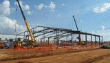 Costruzione chiara prefabbricata della struttura d'acciaio per il capannone e Corridoio