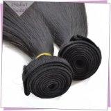 Оптовая торговля прямых волос человека связки естественных черных волос продукты