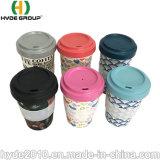 Chinesische Lieferanten-Grün-Quelle BPA geben gedrucktes Kaffeetasse-biodegradierbares Bambusfaser-Cup frei