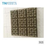 Panneau de mur sain décoratif intérieur amical de l'épreuve 3D de fibre de polyester d'Eco