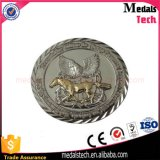 La alta calidad muere monedas redondas del desafío del esmalte suave del metal del molde