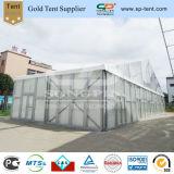 шатёр 18mx25m Wedding с прозрачной крышей и ясной стеной (PF18)