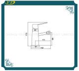 Form-einzelner Loch-Badezimmer-Wannen-Messinghahn