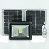 Gli indicatori luminosi solari del LED, il proiettore esterno di obbligazione, 40W IP65 impermeabilizzano, autoinduzione, indicatore luminoso di inondazione solare per prato inglese, giardino