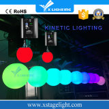 De LEIDENE Bal van Lif T, het LEIDENE Kinetische Systeem van de Verlichting, de LEIDENE van de Kleur Bal van de Disco