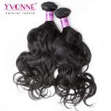 Estensione naturale dei capelli dell'onda del Virgin del tessuto dei capelli umani del commercio all'ingrosso 100% di Yvonne
