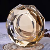 Het creatieve Achthoekige Asbakje van de Asbakjes van het Glas van het Kristal