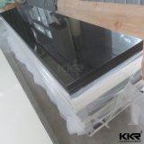 20mm Folha de superfície sólida preto para a bancada de cozinha