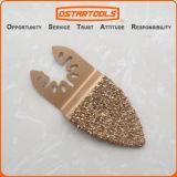 lámina oscilante de la herramienta de la escofina de Grisp del dedo del carburo de 40m m (1-5/8 '')