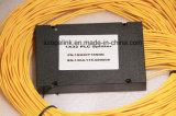 Kan de Optische PLC van de vezel 1X32 Splitser van de Plastic Doos voor de Toepassing van de Radio en van het Netwerk en, kabeltelevisie