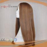 El cabello humano Jewish peluca peluca Kosher (PPG-L-0915)