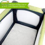 Guardias de cinco lados superiores y laterales del colchón de cuna impermeable líquidos Colchoneta/cubierta