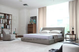Brown Fabric Home Hotel Sala de estar Dormitorio moderno Muebles simples