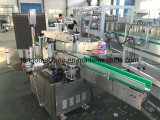 Cap Top Label를 위한 1 Side Label Adhesive Sticking Machine