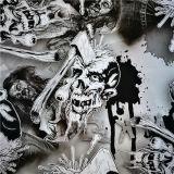 Tcs vendre Transfert d'eau chaude de l'impression papier/Hydrographie Film Motif du crâne NON : S043f1227b