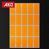 Rótulo autoadhesivo de papel adhesivo pegajoso Sticker adhesivo de suministros de oficina
