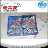 Calza del carburo de tungsteno para las piezas insertas de torneado y que muelen