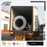 Futao bester Verkauf galvanisierte 35FT Stahlmonopole