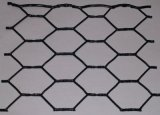 Rete metallica esagonale rivestita molle Twisted del PVC