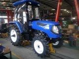 La CE aprobó 60 CV, 4WD Agricultura Granja Tractor con cabina de estilo de Foton