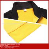 Cappotto del rivestimento della chiusura lampo di alta qualità degli uomini neri del rivestimento (J223)