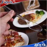 De beschikbare Plastid Lepel van het Mes van de Vork van het Bestek Plastic Plastic (JX172)