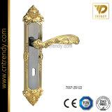 機密保護の鋼鉄ドア(7006 ZR6066CL)のための亜鉛合金のハンドルのドアロック