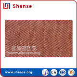 Tuile tissée flexible molle de texture de lin textile utilisée pour la salle de séjour