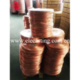 Aire acondicionado la última línea de producción de tubos de cobre