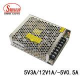 Levering van de Macht van de Wijze van de Omschakeling van de Output 12V1a -5V0.5A van Smun 5V3a/de Drievoudige