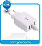 3 puertos USB cargador de pared inteligente Smart cargador USB 5V con enchufe plegable