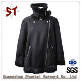 2018new Clothes Black Winter Jacket with To zip, Down Jacket
