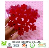 Christmas Tree Ornaments Decoration in Red Snowflakes Felt
