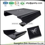 Extrusão de alumínio para o dissipador de calor do radiador de equipamento de áudio do carro com a norma ISO9001