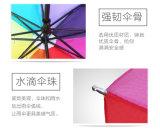 promozione dell'ombrello del Rainbow 8K che fa pubblicità all'ombrello