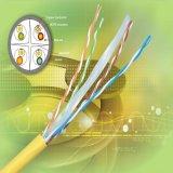 Cable de LAN descubierto sólido del cobre UTP CAT6 de la venta caliente o cable de la red