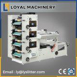 4 couleurs pour l'étiquette de la machine d'impression flexographique