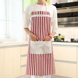 Die gedruckte Baumwolle kundenspezifisch anfertigen, die Küche-Schellfisch-Schutzblech mit Taschen kocht