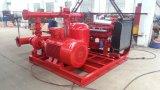 Motor eléctrico y motor diesel&Jockey de la bomba de fuego