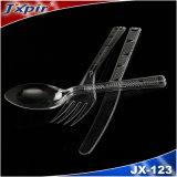Wegwerfplastiktafelgeschirr /Forks /Spoons
