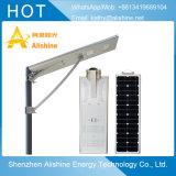 30W de luz solar calle con el controlador de panel Solar y batería